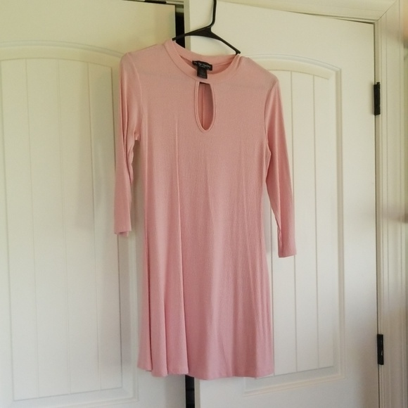 See You Monday Dresses & Skirts - Ribbed Pink Dress
